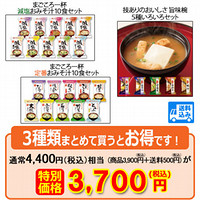 【WEB限定商品】旨味椀・まごころ一杯30食セット